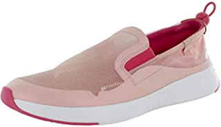 FitFlop Womens Brielle Translucent Slip On Sneaker Shoes