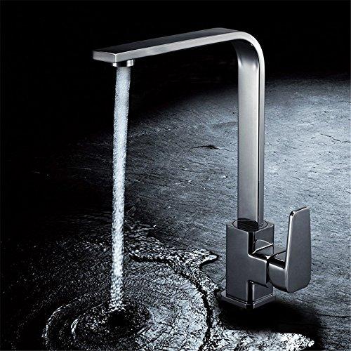 wasserhahntap Kupfer Küche Spüle Hot Cold Wasserhahn Keramik Ventil Core Universal Drehbar Panning Topf Haushalt bleifreies Wasserhahn