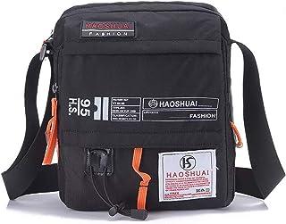 """JAKAGO Waterproof Shoulder Bag Messenger Bag Mobile Phone Pouch Crossbody Passport Holder Adjustable Shoulder Strap Purse 9.7"""" 10.1"""" Laptop Bag Travel Hiking Shopping Camping Outdoor Sport"""