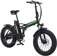 SHENGMILO 500W Bicicleta Eléctrica Plegable Montaña Nieve E-Bike Ciclismo de Carretera, 20 * 4.0 Pulgadas Neumático Gordo 48V 15AH Batería Pantalla LCD