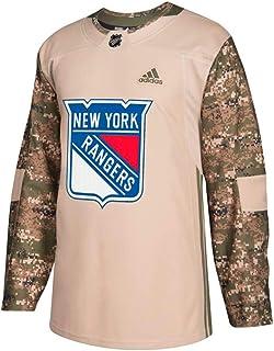 adidas New York Rangers NHL Men`s Camo 2018 Authentic Veterans Day Practice Jersey
