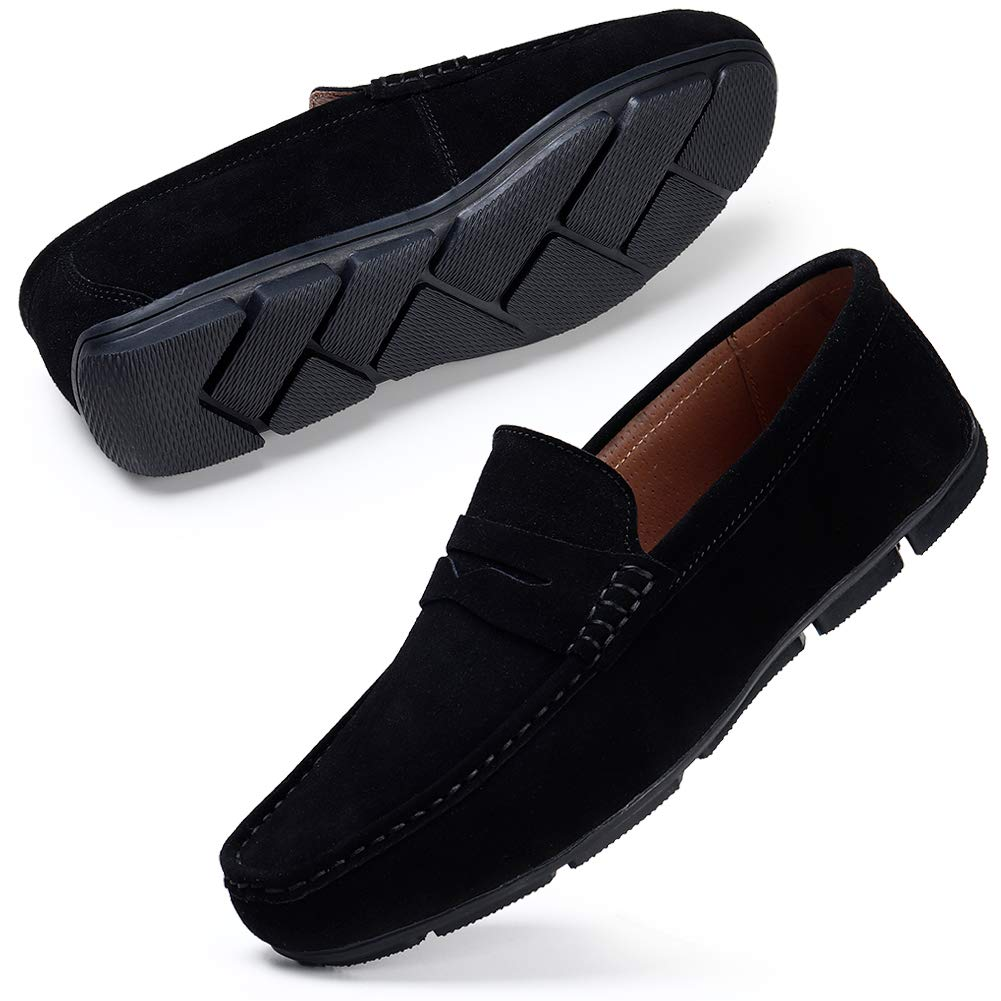 Stq Men S Loafers Suede Slip On Driving Moccasins Shoes Buy