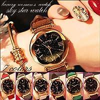 ネコポス レディース腕時計 キラキラ ラメ入り文字盤 マット素材 ベルト カラーバリエーション豊富 大 New Style Watch かわいい おしゃれ レディースウォッチ カラー,ベージュ