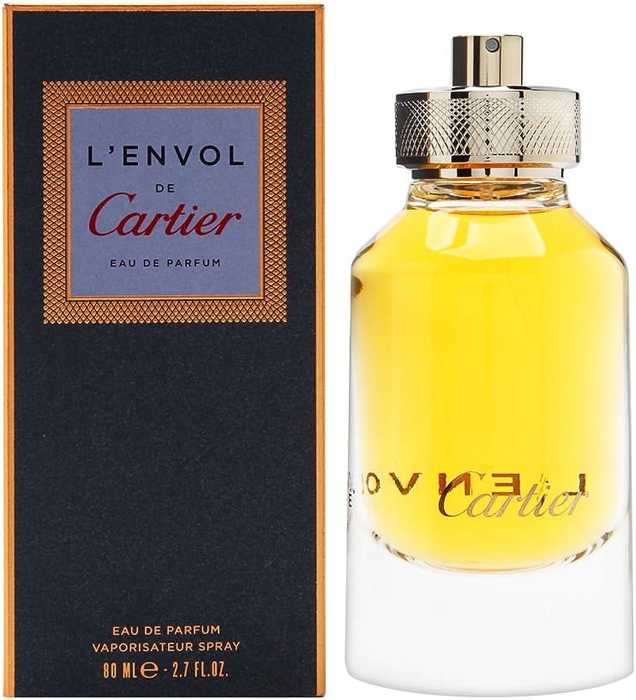 Cartier l`envol de profumo - 80 ml eau de parfum da uomo 3432240501042