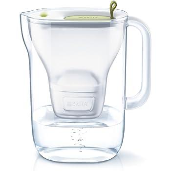 ブリタ 浄水器 ポット 浄水部容量:1.4L(全容量:2.4L)  スタイル ライム マクストラプラス カートリッジ 1個付き 【日本仕様・日本正規品】
