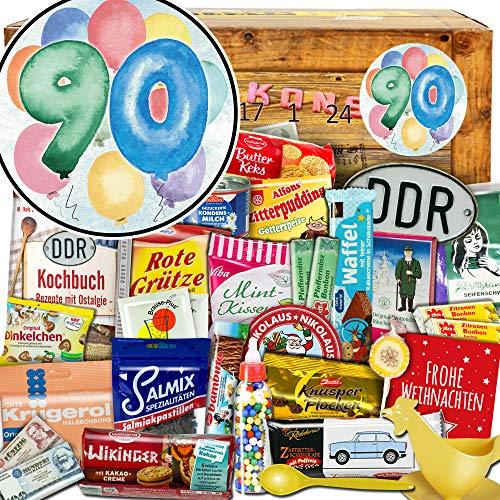 90 Geschenk zum Jubiläum - Advent Kalender DDR - Adventskalender für Eltern