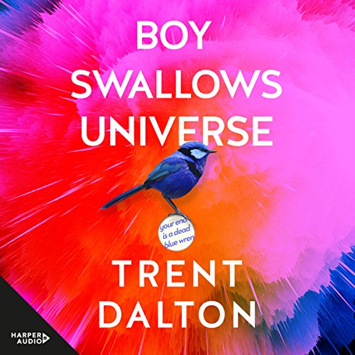 Boy Swallows Universe audiobook cover art