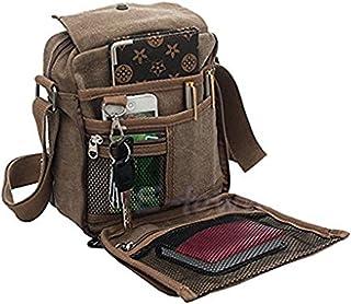 LY Liying Neu Umhängetasche Rucksack Tasche Retro Canvas Handtasche Praktisch Aktentaschen Schultasche