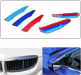 2006-2013,3 colores parrilla delantera trim Muchkey 3D M-Color Parrilla de ri/ñ/ón,para E92 E93 13 parrillas