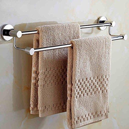 badkamer plank Badkamer handdoek rek/dikker dubbele handdoek rek/geperforeerde muur badkamer handdoekrek