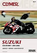 Clymer 01-04 Suzuki GSXR1000 Service Manual