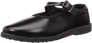 Liberty Girl's Black Formal Shoes