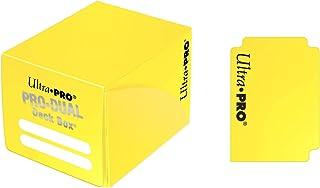 Ultra PRO Dual Deck Box, Small, Yellow