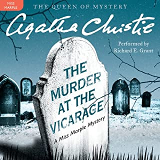 The Murder at the Vicarage     A Miss Marple Mystery              By:                                                                                                                                 Agatha Christie                               Narrated by:                                                                                                                                 Richard E. Grant                      Length: 8 hrs and 12 mins     636 ratings     Overall 4.5