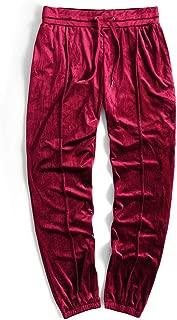 Best mens red velvet trousers Reviews