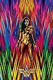 Close Up Wonder Woman 1984 Poster Neon Static (61cm x
