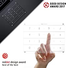 Nums Number Pad for New MacBook Air Retina 2018-2019, Wireless Numeric Keypad Calculator, Track Pad Protector for MacBook with App/Web/Folder Swift Launch Function
