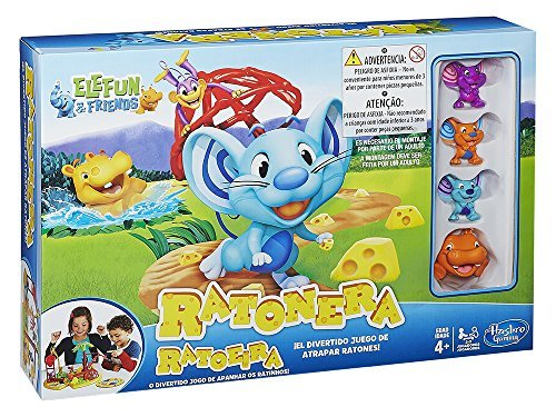 Hasbro Gaming- Juegos La Ratonera (Hasbro Spain A4973175)