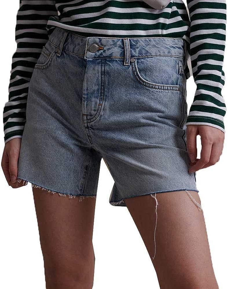 Superdry Denim Mid Length Shorts