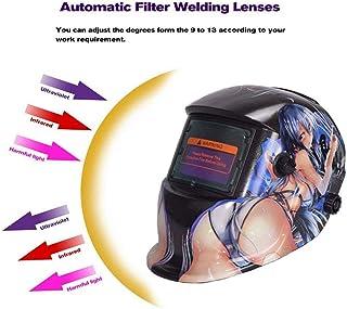 MOXIN Careta Soldar Soldadura Máscara Soldadores para Soldar para ARC TIG Mig Molienda Oscurecimiento Automático Energía