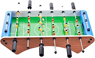 CBA BING Home Tabletop Foosball Table Soccer Game Portable Compact Mini with Two Balls and Score Keeper for Adults and Kids