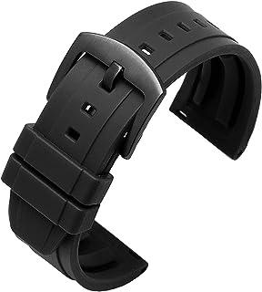 Achket سيليكون ووتش الفرقة 20 ملليمتر 22 ملليمتر 24 ملليمتر سيليكون watchband 42 ملليمتر 46mmsuitable لمعظم ساعات واجهة ال...
