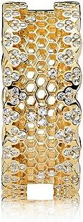 خاتم للنساء من باندورا دانتيل 167100CZ ذهبي (7 US)