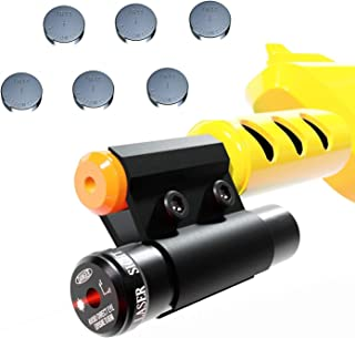 Salt Guns for Insects Accessories for Bug Assault Salt Gun for Killing Flies - Fits All Versions of Insect Airsoft BB Pump (6 Batteries)