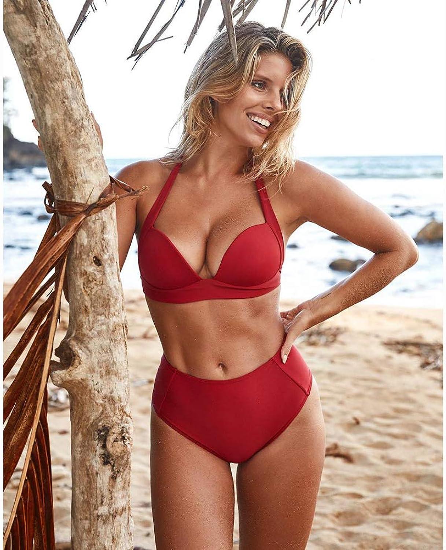 HECHEN Sexy Sexy Sexy Bikini-Set mit hoher Größe Badebekleidung Damen-Oberteile Bikini Backless Oberteile Beachwear Biquini B07QSJ7H1B  Extreme Geschwindigkeitslogistik c5f8ca