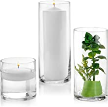 Best hurricane cylinder vase Reviews