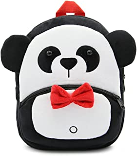 Cute Toddler Backpack Toddler Bag Plush Animal Cartoon Mini Travel Bag for Baby Girl Boy 1-6 Years