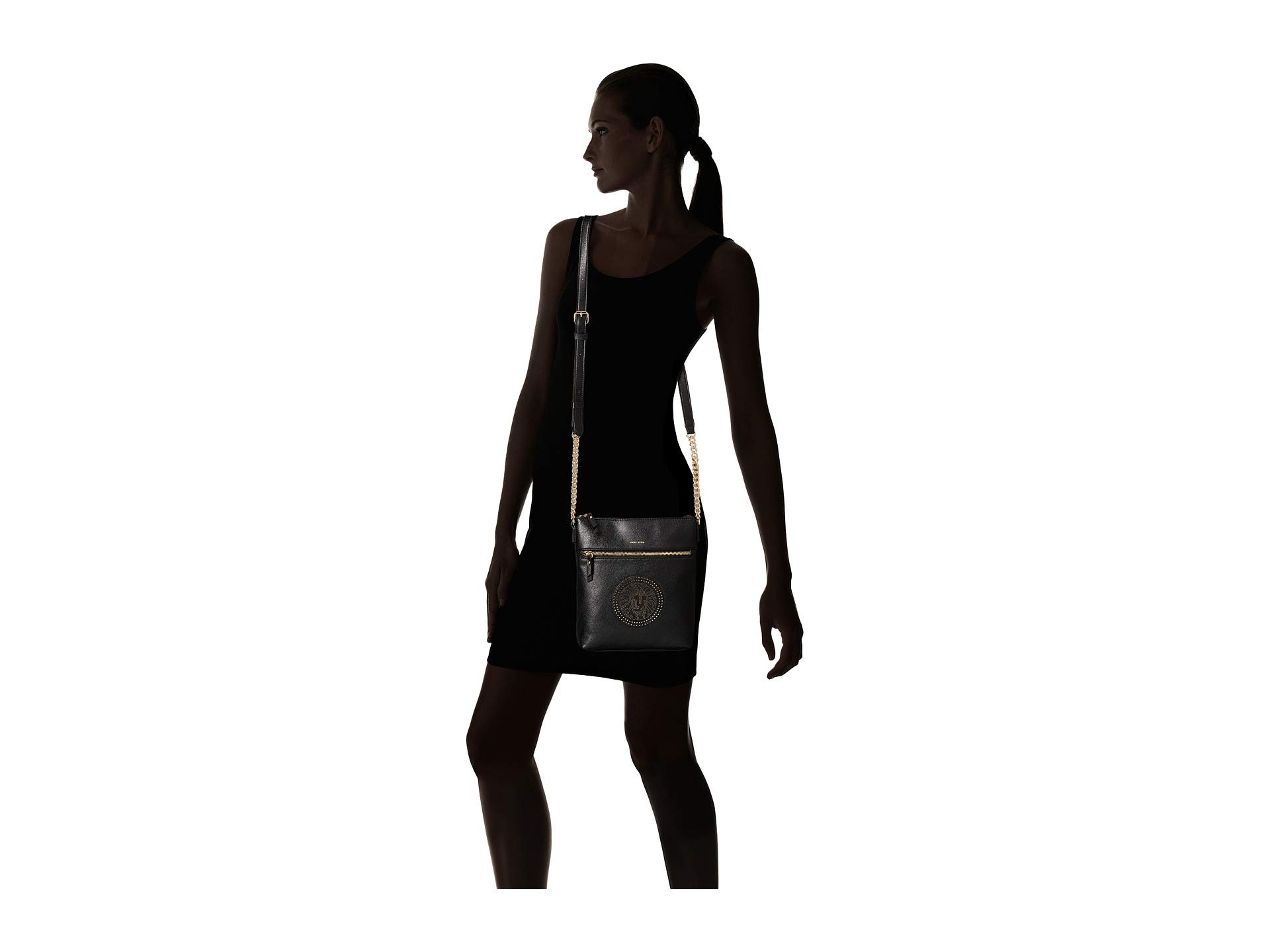 Anne Per Crossbody North Black Lion platinum Klein south r8PUr