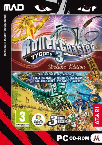Rollercoaster Tycoon 3 - Deluxe Edition (PC CD) [Importación inglesa]