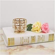 Candle Holders Crystal Small Candle HolderTea Lamp Holder Candle Holder Crystal Candle Holders (Color : 1 Piece 7.5cm)