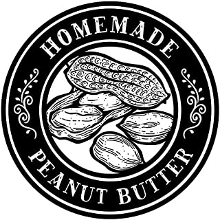Sponsored Ad - Homemade Canning Dissolvable Labels For Mason Jars and More - Peanut Butter (2