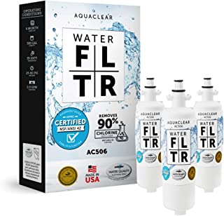 AquaClear 506 LT700P Refrigerator Water Filter LG ADQ36006101 Filter Replacement Easy Installation - Long-Lasting - Cleane...