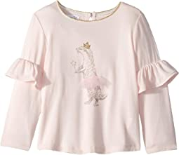 Ruffle Long Sleeve T-Shirt (Infant/Toddler)