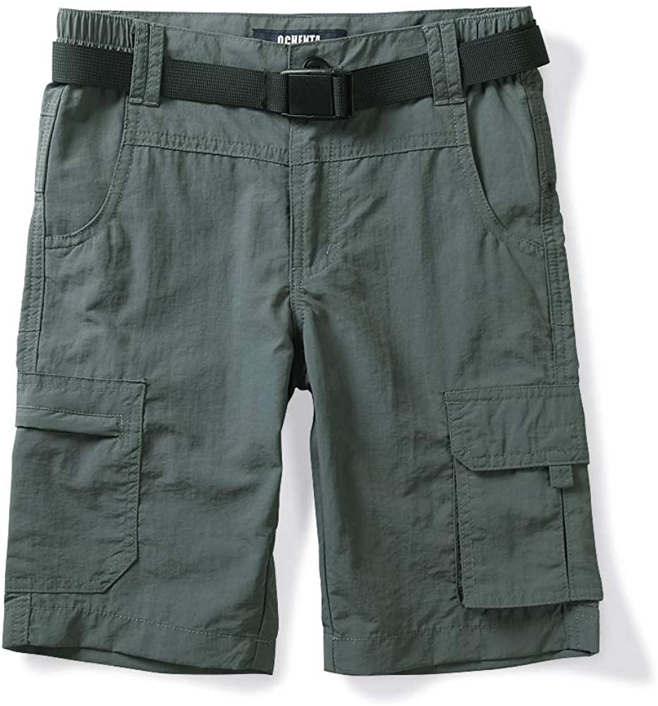 OCHENTA Boys' Lowest price challenge Men's Quick Dry Shorts Cargo Waist Hiking Elastic New products, world's highest quality popular!