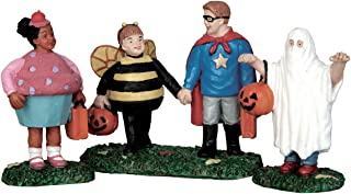 Lemax Spooky Town Village New Trick Or Treaters Halloween 3-Piece Figurine Set #52304