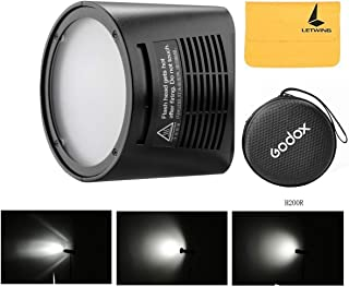 Godox H200R Ring Flash Head with 200ws Strong Power and Natural Light Effects for Godox AD200 Pocket Flash,Light and Portable, Which Offers Even and Soft Light Effects for Shooting