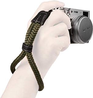 MegaGear mały bawełniany pasek na nadgarstek do aparatu - zielony