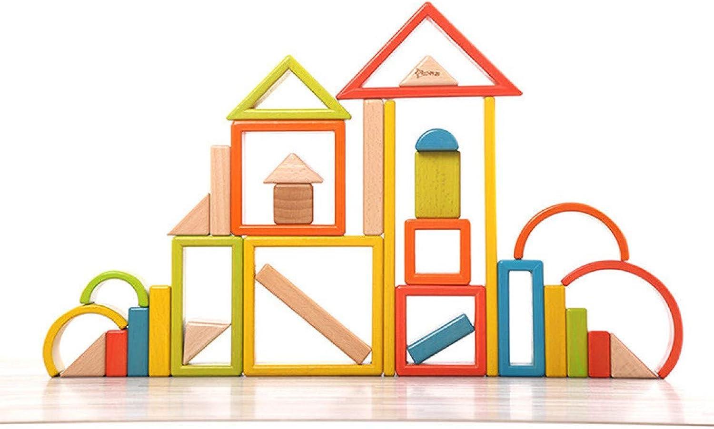 Juler Massivholz-Regenbogenblöcke importiert Buchenholz Massivholzkinderpuzzle für Babys kreatives Spielzeug,Regenbogen,Einheitsgröße B07N2QM7VP Moderne Technologie   ein guter Ruf in der Welt
