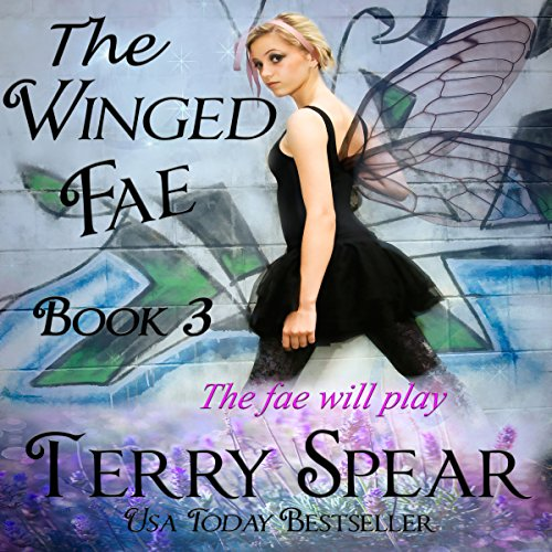 The Winged Fae audiobook cover art