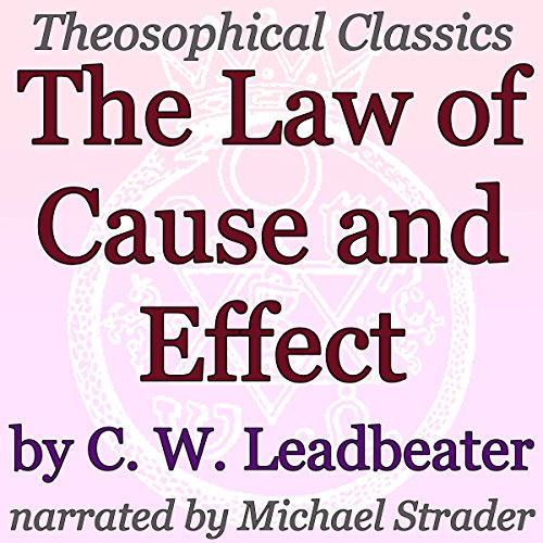 The Law of Cause and Effect audiobook cover art
