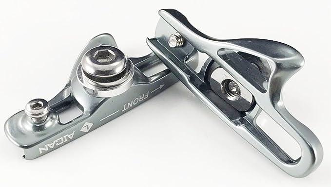 Aluminum C Brake Shoes Shimano//Sram Black 1 Pair  AICAN extension design  uiuiu