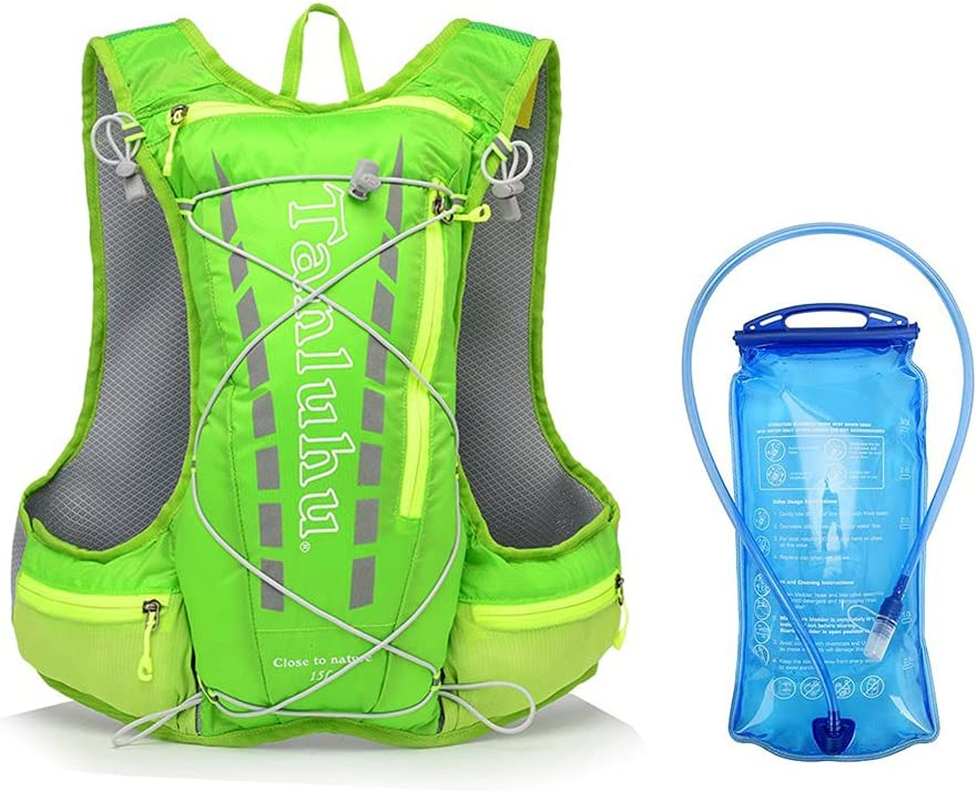 Lightweight Running Superior Hydration Backpack Marathon New mail order Hiki 15L Outdoor