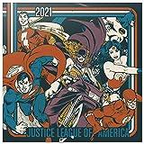 Grupo Erik CP21025 Calendario 2021 da Muro DC originals, calendario 2021 da muro vintage, 12 mesi, include poster regalo, 30 x 30 cm