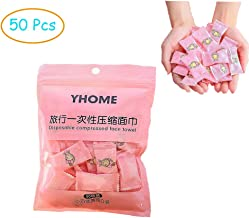 YouChangBest Portable Compressed Towel Disposable Mini Compressed Coin Cotton Tissue Pure Cotton Compressed Wash Face Towel Washcloth Tissue