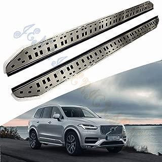 Jennie Erickson Fit For Volvo XC90 2015 2016 2017 Running Boards Side Step Nerf Bar Aluminium