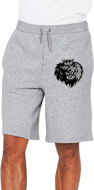 Zinmmerm Men's Casual 2015LockeyManchesterMonarchsLogo Sweat Shorts